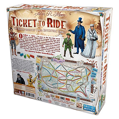 Ticket to Ride: The Cross-country Train Adventure Game! - 3