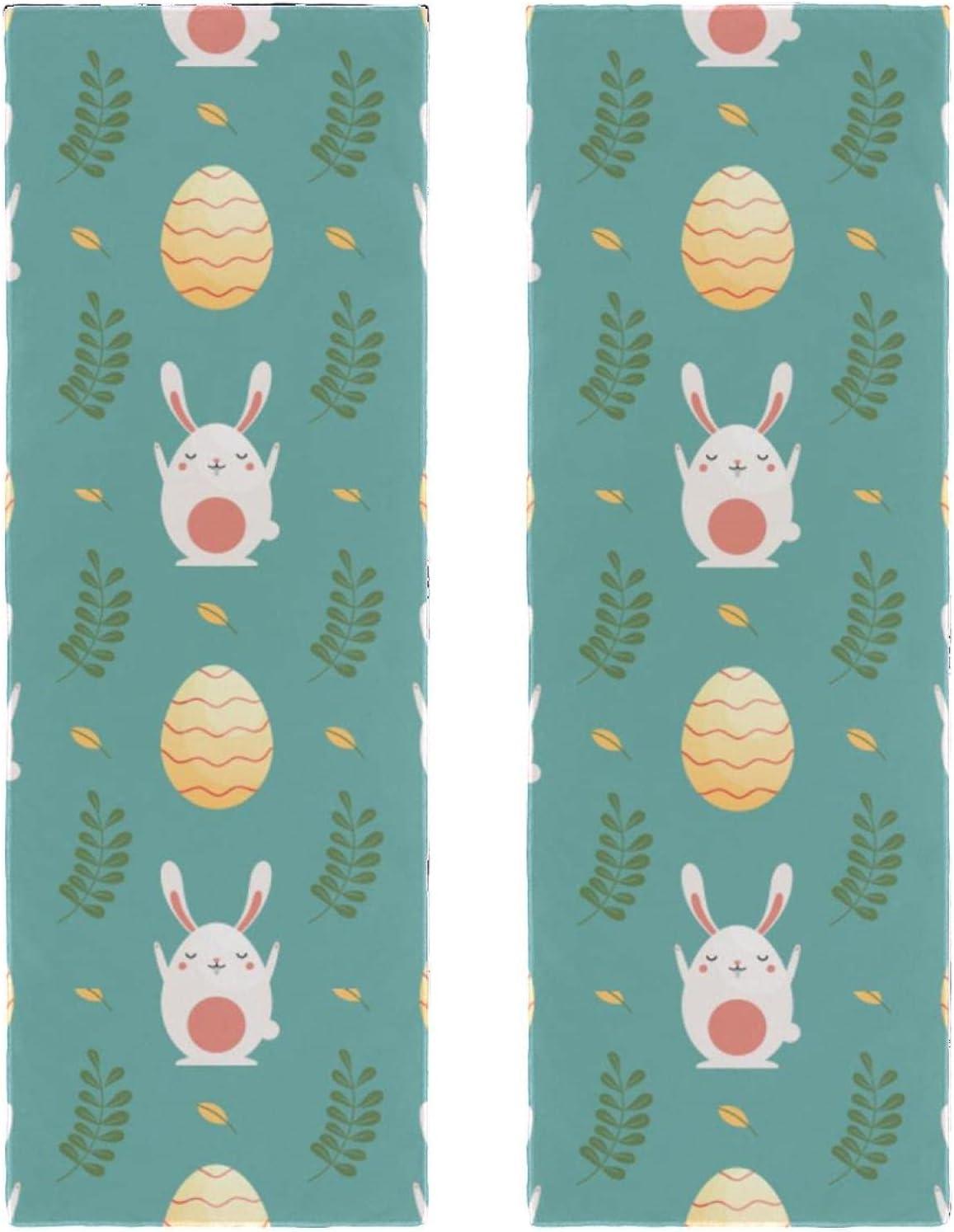 Fast Drying Microfiber Towels 2 Packs Cartoon Cute Egg 2021 new Rabbit sale