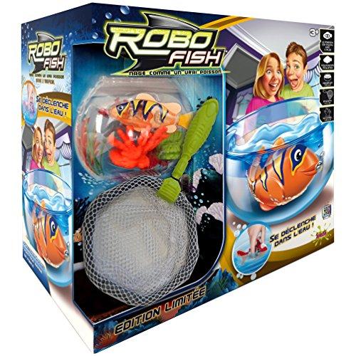 Splash Toys - Aquarium robo fisch tropisch + set deko ( koralle x 2 + netz)