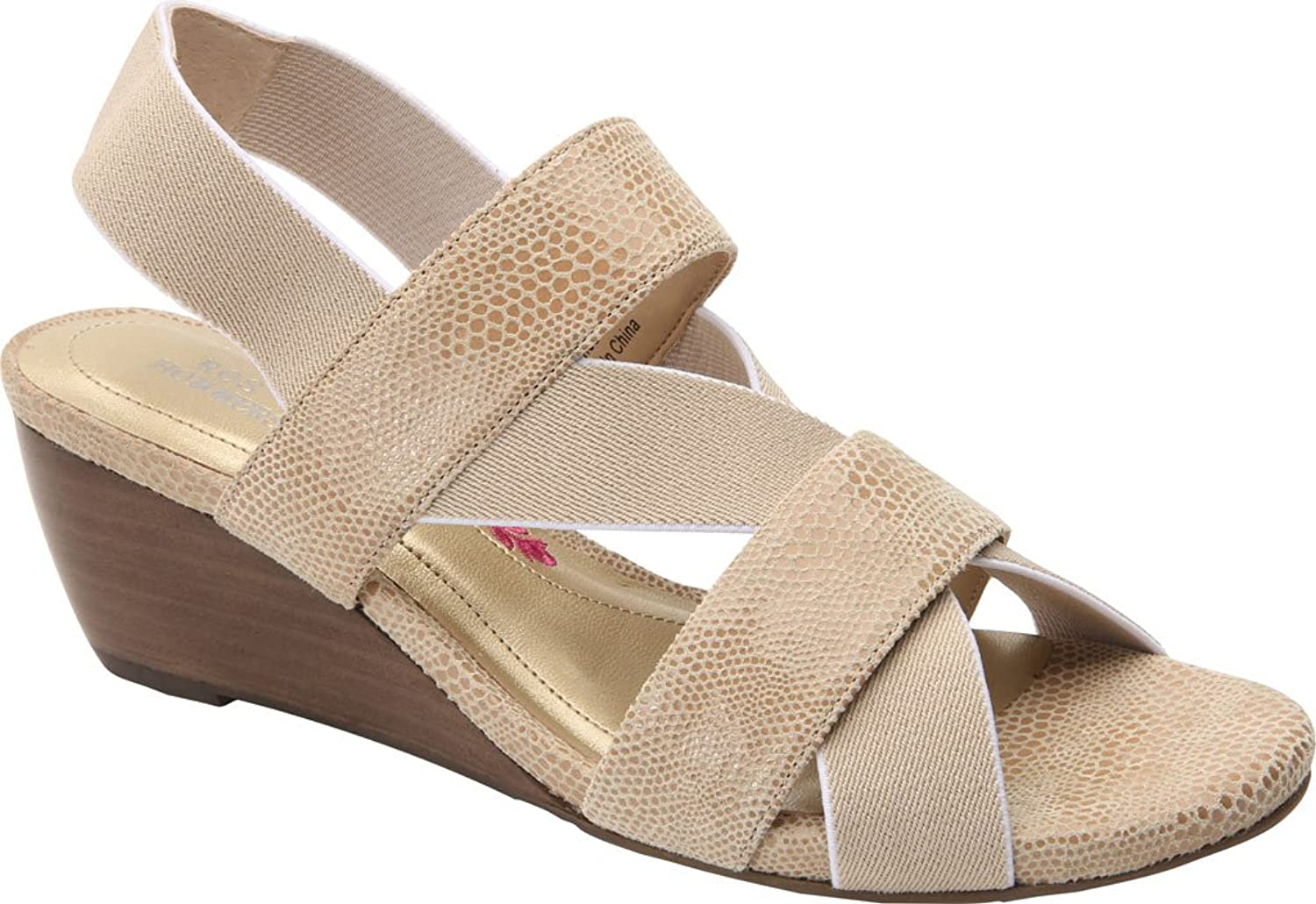Ros Hommerson Woherren Wynona Strappy Wedge Sandal,Nude Leather,US 7.5 S S S 1e8