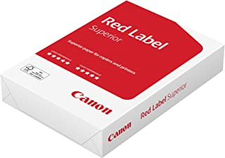 Canon Germany red Label, Superior Business Paper, Suitable for All Printers, Brilliant, White CIE 168(optimised Protective Box). 500