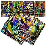 100 Cartes Collector de la Nouvelles Version Française,Amusant Flash Card,GX Tag Team Cartes,Jeu de Cartes de Puzzle,Une Sélection de Cadeaux pour Les Enfants