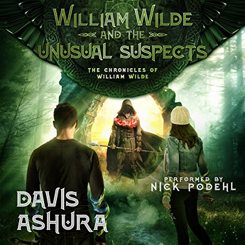 William Wilde and the Unusual Suspects audiobook cover art