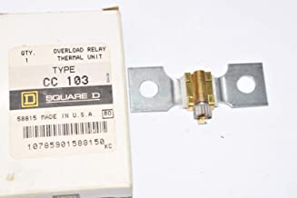 NEW Square-D, Part: CC 103 Overload Relay Thermal Unit