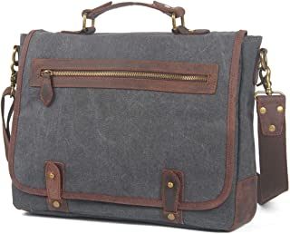 Mens Bag Messenger Bag Color:green Simple Retro Zipper Waterproof Canvas Briefcase Shoulder Bag High capacity