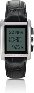 الفجر ساعة رسمية رجال رقمي جلد طبيعي - WS-06L