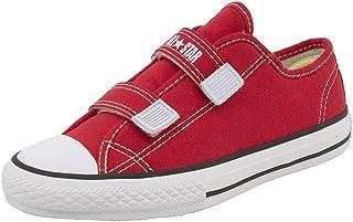 62dc20185 Tênis Infantil Feminino Core 2 Straps Vermelho All Star Converse - 206