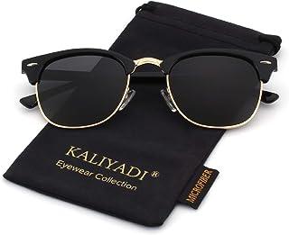 Polarized Sunglasses for Men and Women   Semi-Rimless...