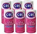 C&H Pure Cane Granulated Sugar, 20 Oz Easy Pour Reclosable Top Canister (Pack of 6)