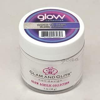 Glam and Glits ACRYLIC Glow in the Dark Nail Powder - Dance Til Dawn 2031