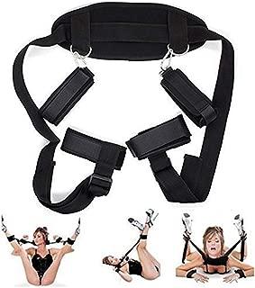 Control Bed Rêštráint Kit Adjustable Handcuffs Wrist Ankle Cuffs Bed Play Straps Couples Romantic Game,Aadült Sêx Play