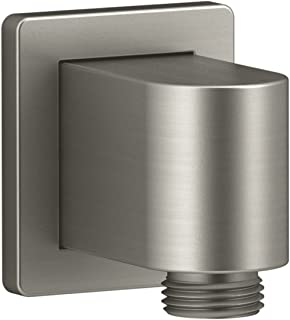 KOHLER K-98350-BN Awaken Wall-Mount Supply Elbow, Vibrant Brushed Nickel