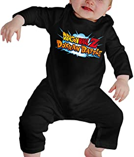 Baby O-Neck Long-Sleeve Pure Color Climbing Clothes Dragon_Ball Z Dokkan Battle Jumpsuits Sleepwear