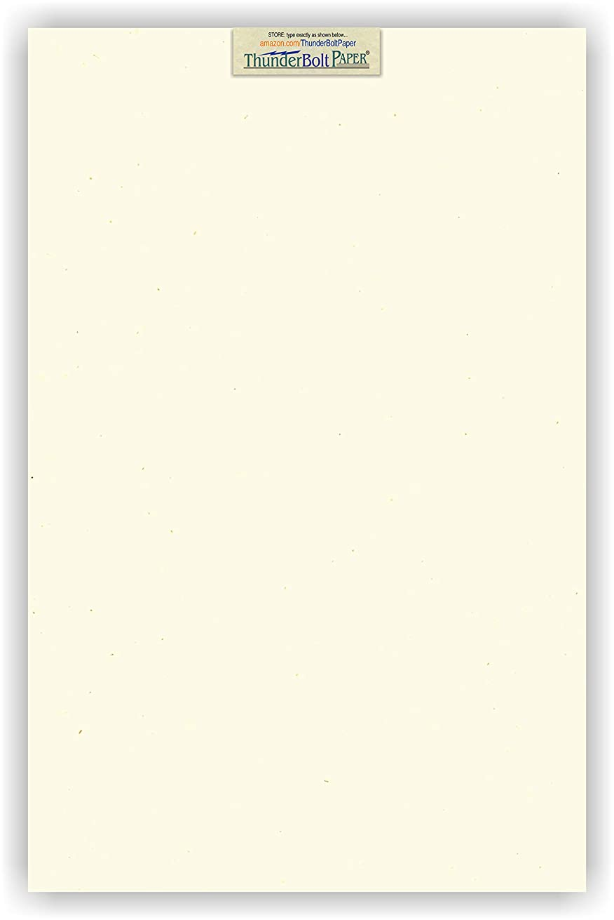 25 Earthy Cottonwood Fiber Cover Paper Sheets - 11
