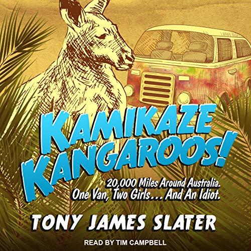 Kamikaze Kangaroos! audiobook cover art