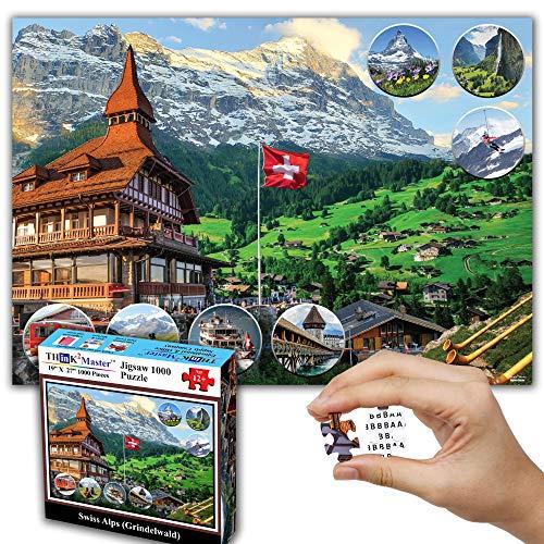1000 piece puzzle europe - 8