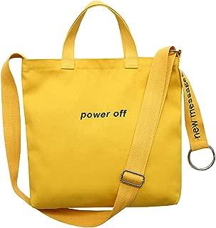 Bageek Womens Crossbody Bag Casual Handbag Large Capacity Canvas Shoulder Bag for College