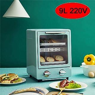 HIGHKAS Horno Doble 9L, Tostador eléctrico pequeño multifunción, calefacción por Infrarrojos lejanos, calefacción 3 Segundos, Parrilla Doble, es el Mejor pequeño ayudante en la Cocina, Verde