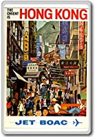The Orient Is Hong Kong Jet Boac - Vintage Travel Fridge Magnet - ?????????