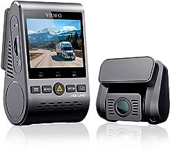 VIOFO A129Pro Duo 4K Dual Dash Cam 3840 x 2160P Ultra HD 4K Front and 1080P Rear Car WiFi Dash Camera Sony 8MP Sensor GPS, Buffered Parking Mode, G-Sensor, Motion Detection, WDR, Loop Recording