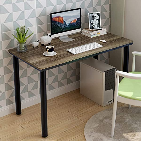 Computer Desk PC Laptop Household Desktop Study Table Office Plat Workstation Also For Interview Littay