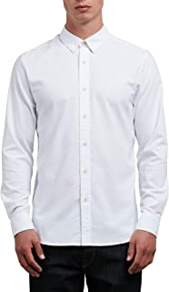 Men's Oxford Stretch Long Sleeve Button Up Shirt