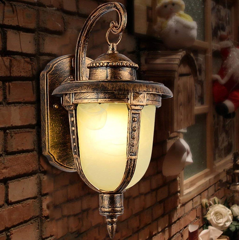 MJY Mode die Wirtschaft der Energie Lampe verstellbare Wand - Wasserdichte Auenwandleuchte Europische Retro Lounge Schlafzimmer Balkon Wandleuchte Beleuchtung Outdoor American Craft (Die Quelle d