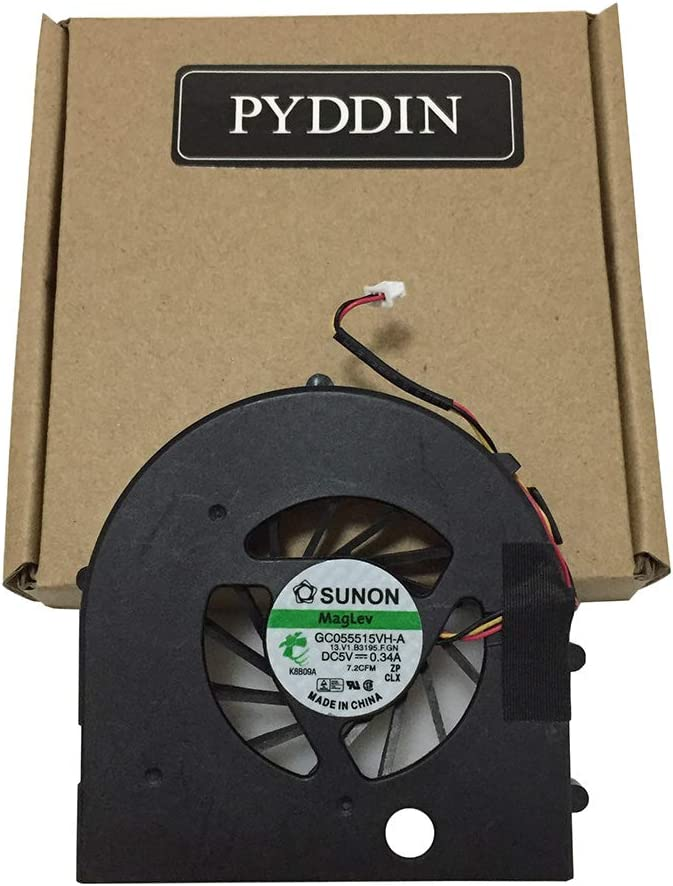 New Laptop CPU Cooling Max 70% OFF Fan for PP28L 0XR216 M1530 XPS ...