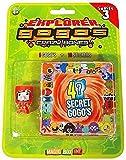 Crazy Bones Gogos Series 3 Explorer Blister Pack 5 Random Figures 9 Stickers!