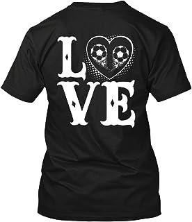 Love Soccer T Shirt for Men, Women Short Sleeve Tee