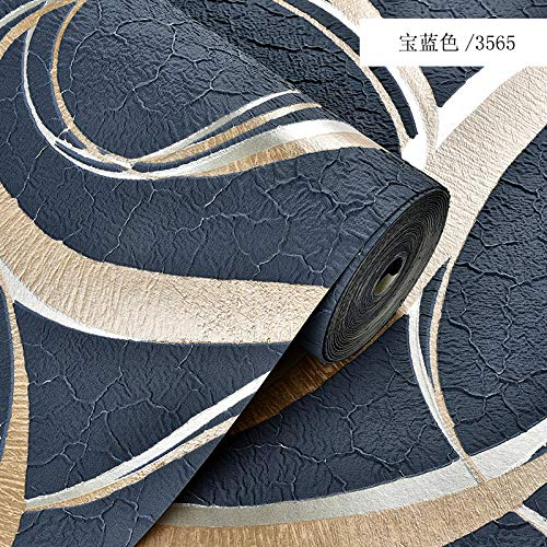 Moderne minimalistische Hirsch Samt Vliestapete Wohnzimmer Schlafzimmer 3d Persönlichkeit Wellenmuster TV Hintergrund Tapete A405