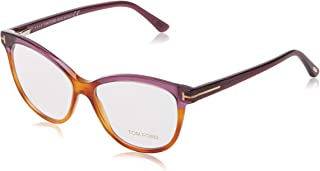 e7b21d6d56 Tom Ford FT5511 Monturas de Gafas, Marrón (Avana), 54.0 Unisex Adulto
