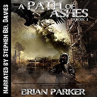 A Path of Ashes audiobook cover art