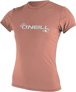 O'Neill Wetsuits Women's Basic Skins Short Sleeve Sun Shirt