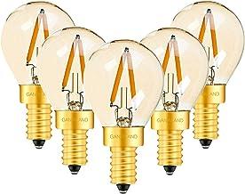 DC/AC12V-24V 1W LED G40 Light Bulb Outdoor Landscape Rope Lamp Warm 2200K Chandelier Candle LED Lamp,2