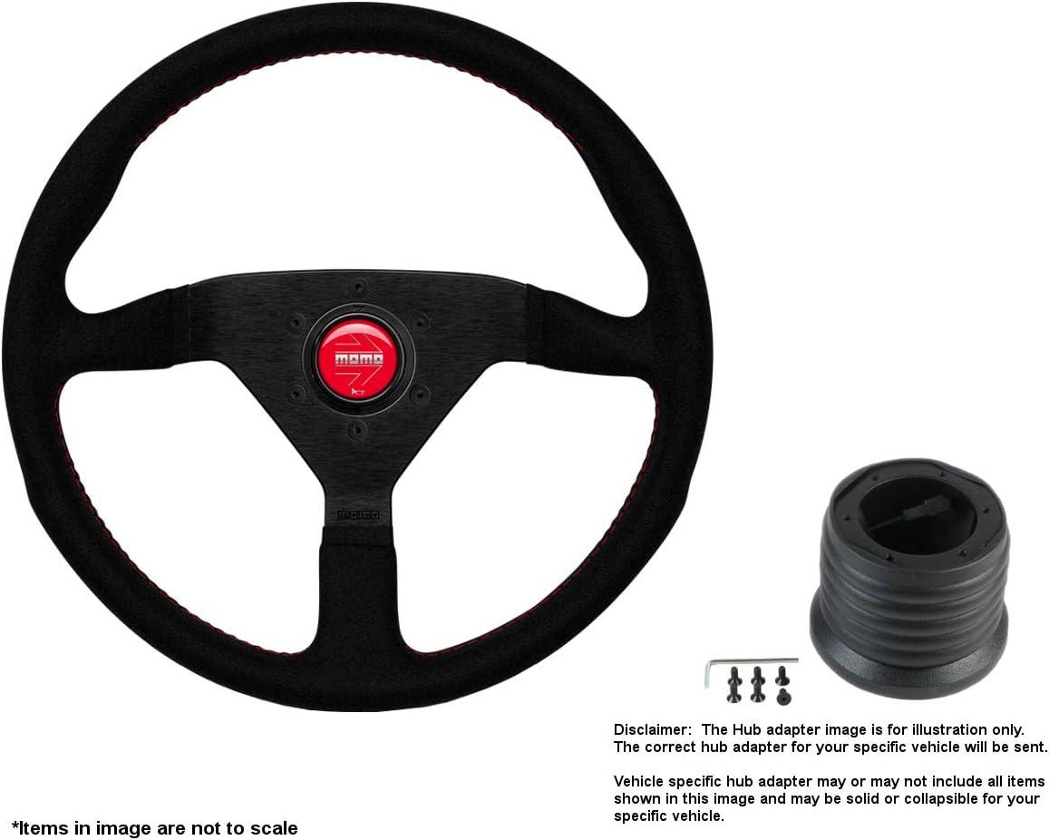 MOMO Montecarlo 320mm 12.6 Inches Alcantara Fashionable w Steering Wheel Baltimore Mall B