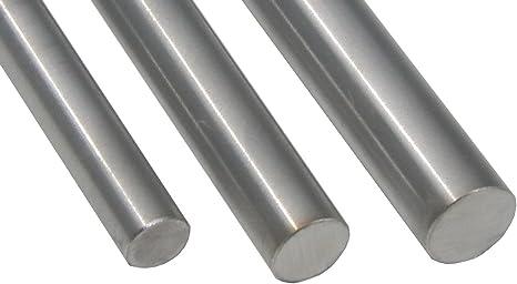 L: 300mm 30cm Edelstahl Rundstab VA V2A 1.4301 blank h9 /Ø 15 mm Zuschnitt