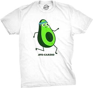 Mens Avocardio Tshirt Funny Fitness Running Avocado Cinco De Mayo Tee