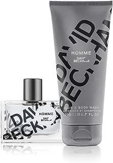 David Beckham Homme 2 pc 6.7oz Hair & Body Wash, 1oz Eau de Toilette