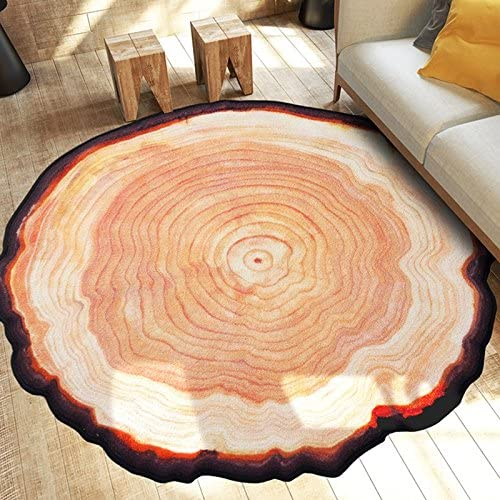 Newrara Modern Sale Special Price Country Style Round Tree Ring R Area Shape Today's only Annual