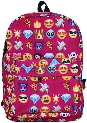 YACAOS Sourire sac à dos en nylon grande capacité sac à dos de voyage