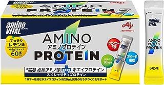 味の素 アミノバイタル アミノプロテイン レモン味 60本入箱