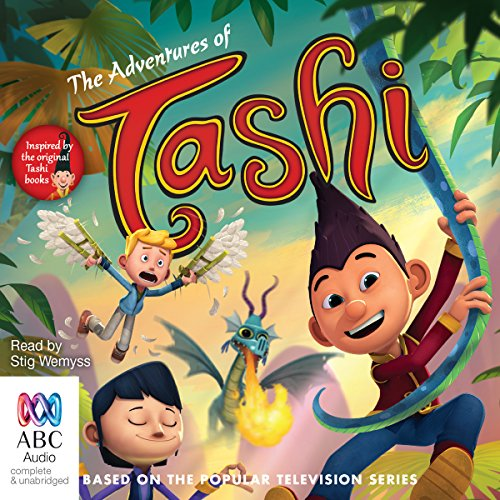 The Adventures of Tashi cover art