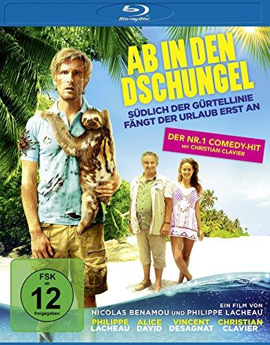 Ab in den Dschungel [Blu-ray]