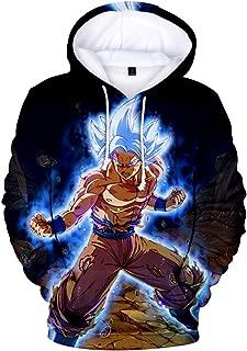 Unisex 3D Printed Dragon Ball Pullover Broly Novelty Hoodie Sweatshirt