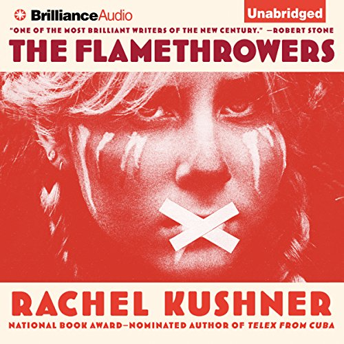 The Flamethrowers audiobook cover art