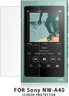 NUPO Sony Walkman NW-A30シリーズ / NW-A40シリーズ ガラスフィルム 2.5D 硬度9H 飛散防止 指紋防止 高感度タッチ 極高透過率 旭硝子製 耐衝撃 Sony NW-A47 / NW-A45 / NW-A46HN / NW-A45HN 強化ガラス液晶保護フィルム (1枚入)