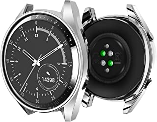 Huawei Watch GT Cover Trasparente,Oihxse Case Compatibile con Huawei Watch GT (42mm-46mm) Custodia in TPU Silicone Protett...