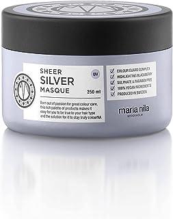 Maria Nila Care & Style – Sheer Silver Masque 250 ml   intensiv hårmask för blont hår