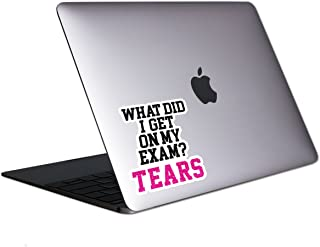 What Did I Get On My Exam Tablet & Laptop Sticker